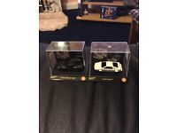 James Bond Collectable Cars x2