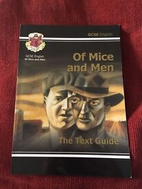 Of Mice and Men GCSE text book