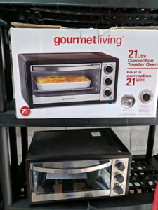 Brand new Gourmet Living Convection Toaster Oven