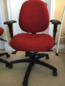 Ergocentric Office Chair and Matching Stool Kitchener / Waterloo Kitchener Area image 2