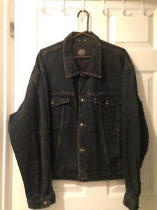 VINTAGE Original Lee Cooper Men's Big Blue Denim Jacket Size XL