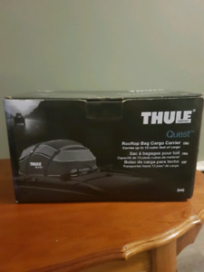 Thule rooftop cargo  carrier