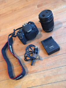 Canon EOS Rebel T5i (18-135mm lens included)