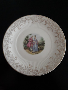 Wm Adams & Son Ironstone Plate