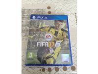 PS4 FIFA 17, sealed.
