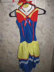 NEW~Sexy Adult Snow White Halloween Outfit Costume