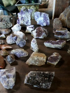 Amethyst Garden Stones and Jems at FURNITURE RECYCLE