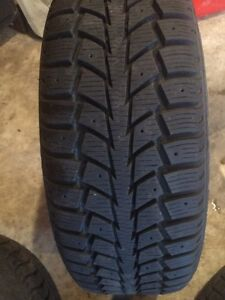 BMW 3 series Rims and winter tires 205/50R17 Stratford Kitchener Area image 3