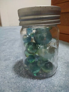 Clear Marbles.