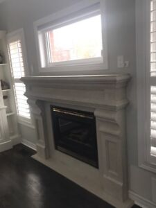 Fireplace surrounds cast