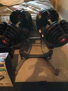 Bowflex 1090, support et bench