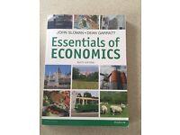 Essential of Economics - John Sloman Book
