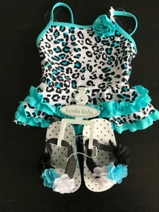 Adorable bathing suit 6 to 9 mos - $5
