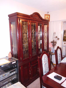 Dining Rom Set - Solid Oak - REDUCED PRICE - $800