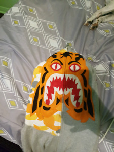 A BATHING APE Tiger hoody XL 100% authentic