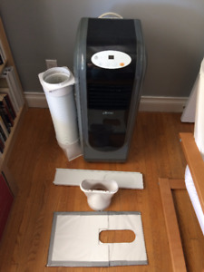 3 in 1 Portable AC with remote, 9000 BTU