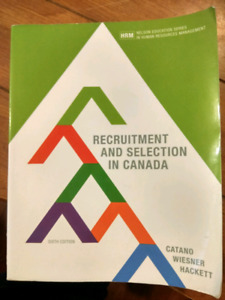 HRM - Recruitment and Selection in Canada