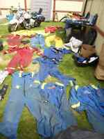 NOMEX AND PROBAN COVERALLS, WINTER COATS, HARD HAT LINERS ECT