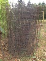 Used 4 foot high wire fencing