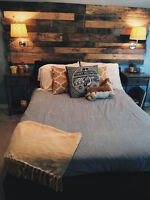 ACCENT WALLS OR ANYTHING TO DO WITH PALLETS
