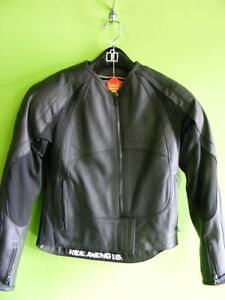 Ladies - ICON Leather Jacket - Small at RE-GEAR