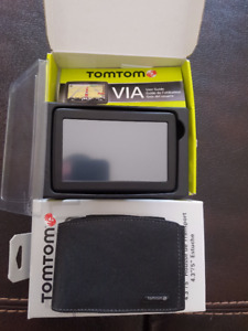 TomTom VIA 1505 TM GPS & Carrier Case **PRICE REDUCED**