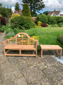 MASSIVE SALE OF TEAK BENCHES FREE DELIVERY