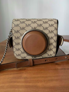 Michael Kors brown signature crossobody