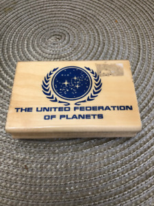 Star Trek United Federation of Planets Rubber Stamp