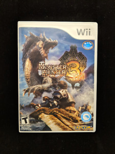 Monster Hunter 3 Tri (Nintendo Wii, Like NEW)