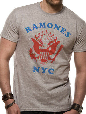 Ramones Eagle (The Ramones Retro Eagle NYC Official Merchandise T-Shirt M/L/XL - Neu)