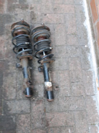 Mini one r56 1.4L petrol 2007 front strut and springs