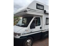Spacious 4 berth Motorhome with awning