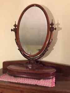 Antique Lady's Dressing Table Mirror.