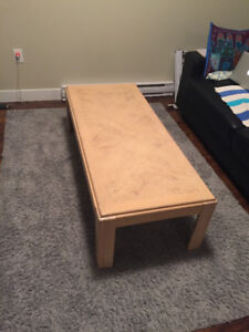 3 Tables - coffee table & 2 end tables