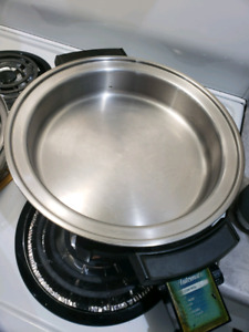 5 piece Stainless Steel Set (Electric Fry Pan)
