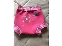 Happy nappy - swim nappy - Size M -3-8 months - 6-11kg -girl - £5