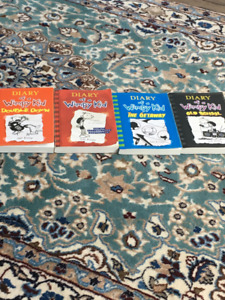 Diary Of A Wimpy Kid 4 books.