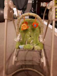 3 in 1 Baby swing/ rocking chair and stationary chair