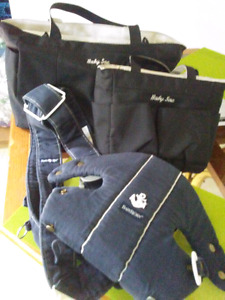 Baby Bjorn carrier and baby sac diaper bag