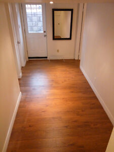 FURNISHED basement apartment with separate entrance
