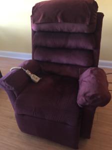 Recliner/chair lift