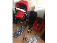 Bugaboo Cameleon 3 full travel system. Good condition