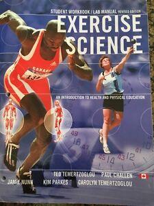 Gr. 12 Exercise Science Workbook/Lab Manual