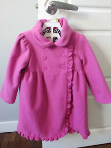 Excellent Condition: Heirlooms Pink Toddler Dress Peacoat 2T