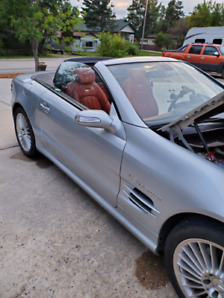 2006 SL55 Mercedes Hardtop convertible 493HP
