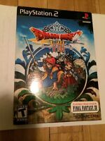 Dragon Quest 8 jeu PS2 neuf scellé - new sealed game