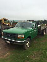 1997 Green Ford F-450