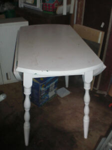 Table à battant en érable