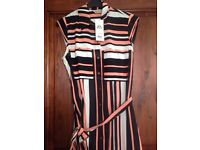 Miss selfridge dress with belt size 6. BRAND NEW WITH TAGS